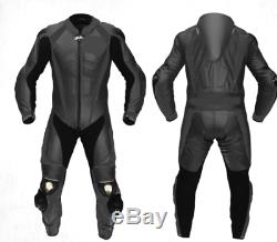 1/2 PC Style Motorcycle/Motorbike Cowhide Leather Jacket, Pant/Suit