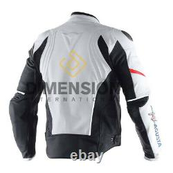 2020 MV Agusta Leather Motorcycle Jacket 100% Cowhide Leather