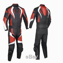 2 PC's-Motorcycle/Motorbike 100% Genuine Leather Jacket, PANT/Suit Racing Biker