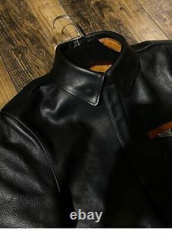 A2 Pilot Jacket Genuine Leather Premium Quality Cow Skin Jacket