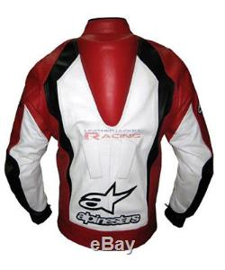 Alpinestar Motorbike Leather Jacket Motogp Racing Jacket