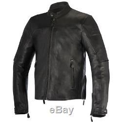 Alpinestars Brera Black leather jacket, Motorcycle Jacket, NEW