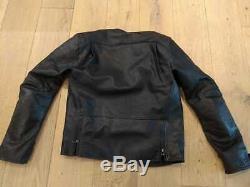 Alpinestars Brera Motorcycle Motorbike Leather Jacket Black USED size 48