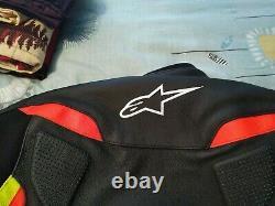 Alpinestars GP Plus R V2 Motorcycle Leather Jacket Yellow / Black / Red size