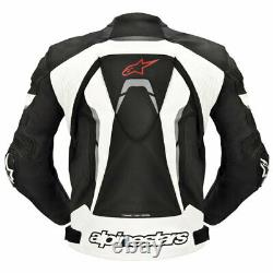 Alpinestars GP Pro Leather Jacket Sport Motorcycle/Motorbike Jacket All Size