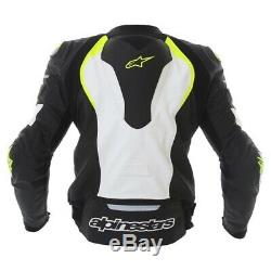 Alpinestars GP Pro Leather Motorcycle Jacket Blk/Wh/Fluo Now £199.99
