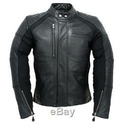 Alpinestars Hoxton Leather Motorcycle Jacket Black Euro 48