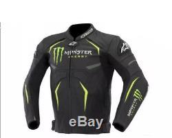 Alpinestars Monster Energy Motorcycle Leather Jacket
