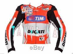 Andrea Dovizioso Ducati Motorcycle Motogp Motorbike Racing Leather Jacket