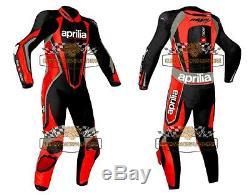 Aprilia Motorcycle Leather Suit Motorbike Leather Jacket Racing Leather Trouser