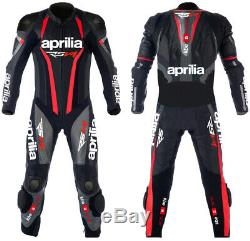 Aprilia RSV4 Motorcycle Leather Suit Motorbike Racing Leather Jacket Biker Pant