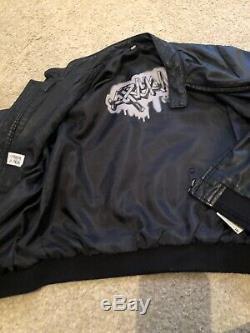 Armani Junior Leather Jacket Age 8
