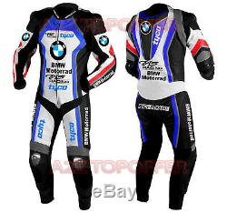 BMW Custom Made Racing Motorbike 1 and 2 Piece Motorcycle Biker Leather Suit