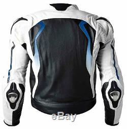 BMW Mens Biker Racing Leather Jacket MOTOGP Motorbike/Motorcycle Leather Jackets