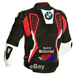 BMW Motorbike/Motorcycle Leather Jacket MOTOGP Mens Racing Biker Leather Jackets