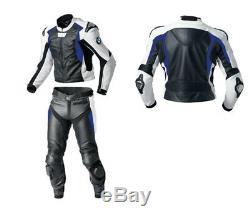 BMW Motorbike/Motorcycle Leather Suit MOTOGP Racing Biker Leather Jacket Trouser