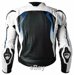 BMW Motorbike/Motorcycle Leather Suit Men Racing Biker Leather Jacket Pant EU-50