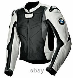 BMW Motorcycle Jackets Biker Racing Leather Motorbike Sports Armor Adults Jacket