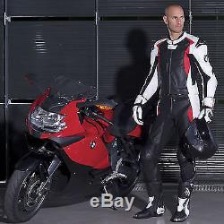 BMW Motorcycle Leather Suit Biker Cow Hide Motorbike Jacket Pant Trousers Custom