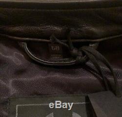 Belstaff Braxton 2.0 Leather Jacket Black Size IT 58 / UK 48 RRP £1,295.00