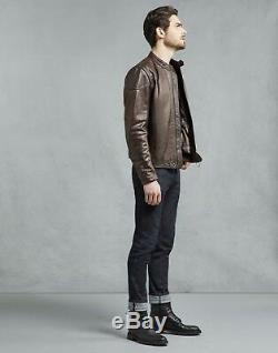 Belstaff Supreme Leather Jacket XL