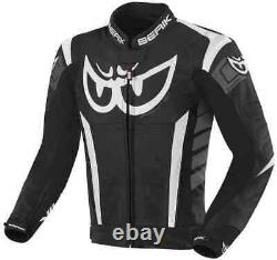 Berik 2.0 Zakura Motorcycle armoured racing sport Leather Jacket (US 38-48)