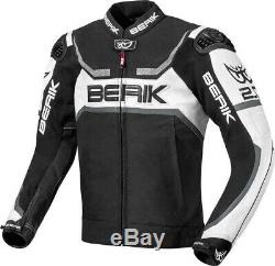 Berik Supermatic Motorcycle racing Leather Jacket 2.0 uncompromising safety