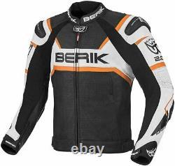 Berik Tek-X Motorcycle Leather Jacket 2.0 CE uncompromising safety jacket