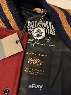Billionaire Boys Club Anniversary Varsity 1off1 Custom Jacket Large RARE