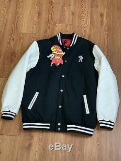Billionaire Boys Club BBC Leather Sleeves Coat Jacket