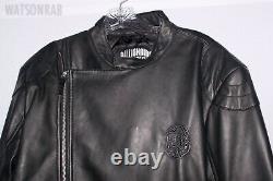 Billionaire Boys Club BBC Wolfman Motorcycle Leather Biker Jacket NWT Sz L