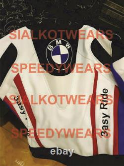 Bmw Easy Ride Motorcycle Leather Jacketsports Racing Jacket Ce Approved Armour