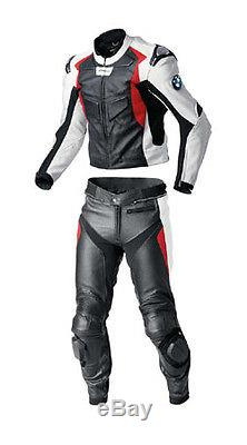 Bmw Moto Gp Racing Motorcycle Leather Suit Mens Motorbike Leather Jacket Trouser