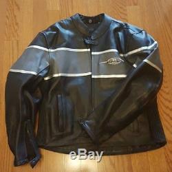 Boulevard Suzuki Motorcycle Leather Jacket