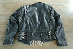 Boy London Vintage Leather Motorcycle Jacket