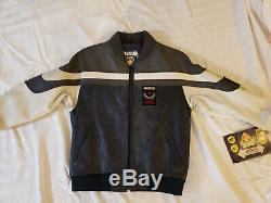 Boys Jacket The World of Troop Leather Hip Hop Old School L Woman's Ladies