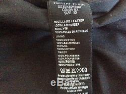 Boys Philipp Plein leather jacket size10
