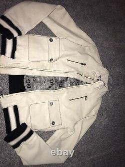 Boys Vintage D&G Faux Leather Jacket
