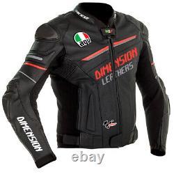 Brand New Customized Motorbike Motorcycle Biker Racing Leather Jacket