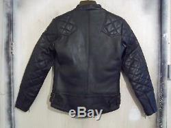 Brand New Vintage 70's Lewis Leathers Phantom Motorcycle Jacket Size 34