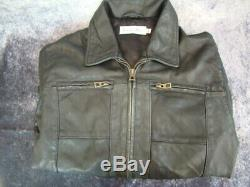CHRISTIAN DIOR Leather Jacket. 12-13 years. Worn once