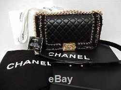 Chanel Boy'Jacket' Medium Classic Flap Bag Limited Ed
