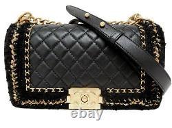Chanel Boy Jacket Medium Classic Flap Bag Limited Edition