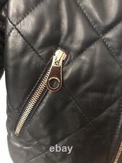 DOLCE & GABBANA Boys Leather Jacket 3 Years