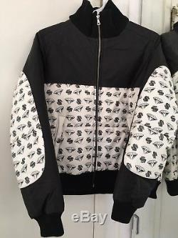 DS Billionaire Boys Club Diamond And Dollar Signs Jacket Leather Size XSmall