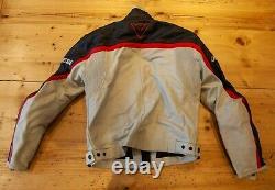 Dainese Leather Motorbike Jacket Size lable 46