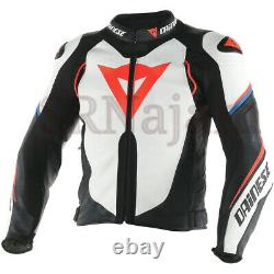 Dainese Super Speed-r Cowhide Leather Customise Jacket Motorbike Motorcycle