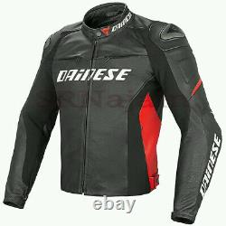 Dainese Super Speed-r Cowhide Leather Jacket Customize Motorbike Motorcycle