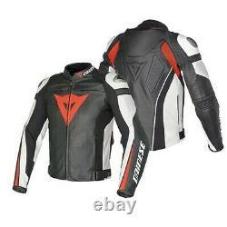 Dainese Super Speed-r Cowhide Leather Jacket Motorbike Motorcycle