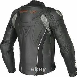 Dainese Super Speed-r Leather Jacket Motorbike / Motorcycle Black